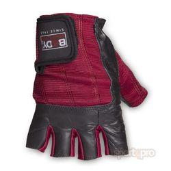Body Sculpture fitness rukavice - koža (spandex)