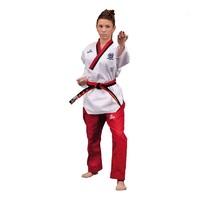 Taekwondo Poomsae dobok POOM, ženski - bijeli 140