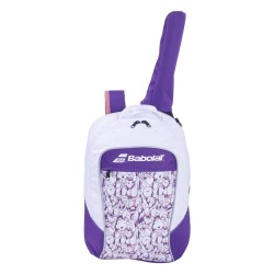 Babolat Club Junior ruksak bijelo-ljubičasti