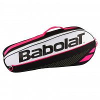 Babolat torba Club Essential x3 crno/roza