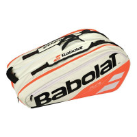 Babolat Pure Line x12 torba bijelo/crvena