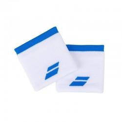 Babolat znojnici Logo bijelo-plavi