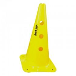 Čunj s rupama PVC 38 cm žuti