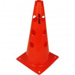 Čunj s rupama PVC 38 cm crveni