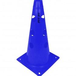 Čunjevi s rupama 38 cm plavi - set 6 kom