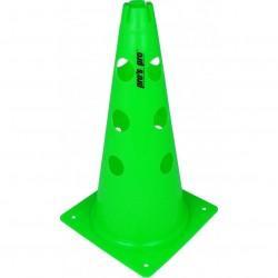 Čunj s rupama PVC 38 cm zeleni