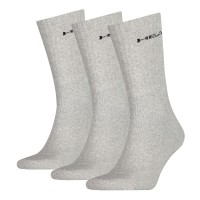 Head čarape CREW Unisex 3P sive
