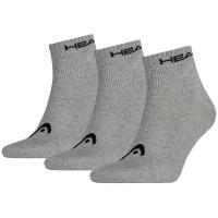 Head čarape Quarter čarape 3/1 sive