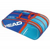 Head Core 9R Supercombi plavo/crvena