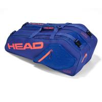 Head Core Combi 6R plavo/koraljna