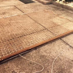 Tepih za ravnanje teniskih terena