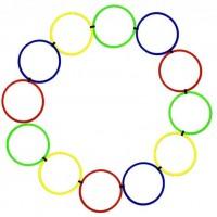 Koordinacijski prstenovi set 12kom