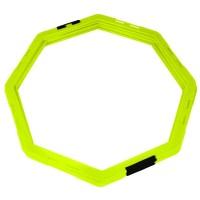 Koordinacijski prstenovi oktogonalni 50cm set 6kom žuti