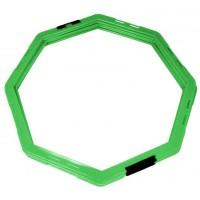 Koordinacijski prstenovi oktogonalni 50cm set 6kom zeleni