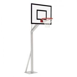 Košarkaška konstrukcija, fiksna, izbočena 75 cm