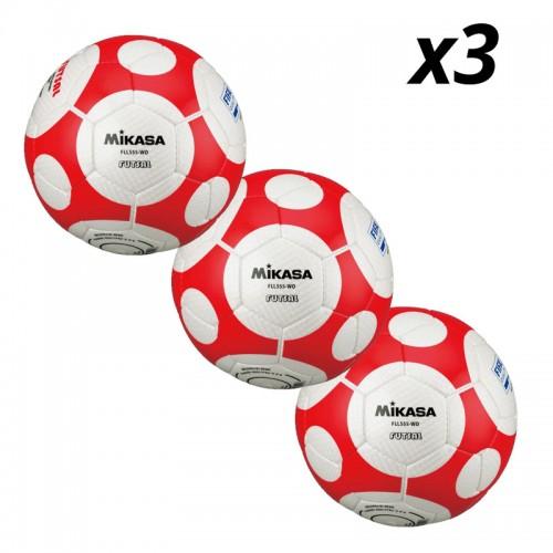 Lopta za futsal Mikasa FLL555-WO 3 kom