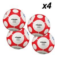 Lopta za futsal Mikasa FLL555-WO 4 kom