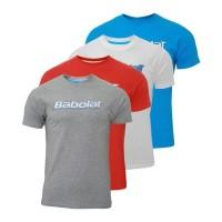 Babolat T-Shirt Training Basic Man siva L