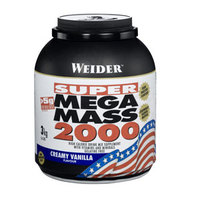 Weider Super Mega Mass 2000 3kg čokolada
