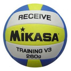 Mikasa V3RCTR lopta za odbojku, tehnička za primanje