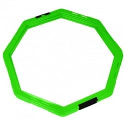 Koordinacijski prstenovi oktogonalni 45cm set 6kom zeleni