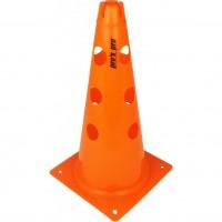 Čunjevi s rupama 38 cm narančasti - set 6 kom