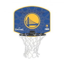 Spalding Mini zidni koš Golden State Warriors + loptica