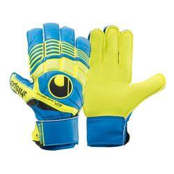 Uhlsport vratarske rukavice Eliminator Startersoft plavo-žute