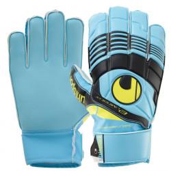 Uhlsport vratarske rukavice Eliminator Startersoft plavo-crne