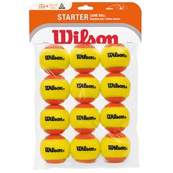 Wilson Starter Game x12 orange