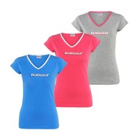 Babolat T-Shirt Training Basic Women siva XO
