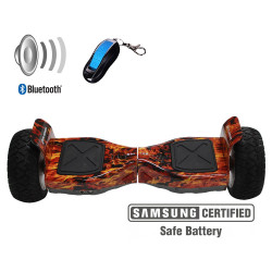 Xplorer hoverboard Warrior flame 8
