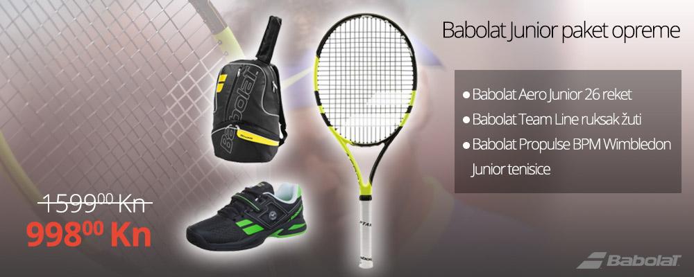 Babolat Junior paket opreme na akciji!