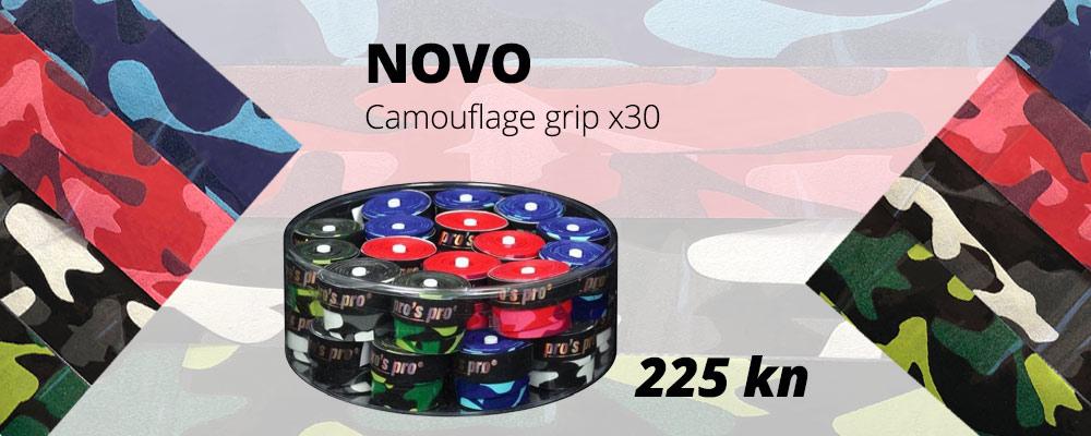 Camouflage grip - NOVO!