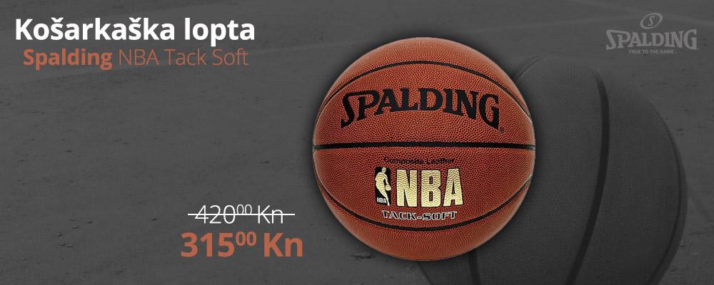 Spalding NBA Tack Soft lopta po odličnoj cijeni!