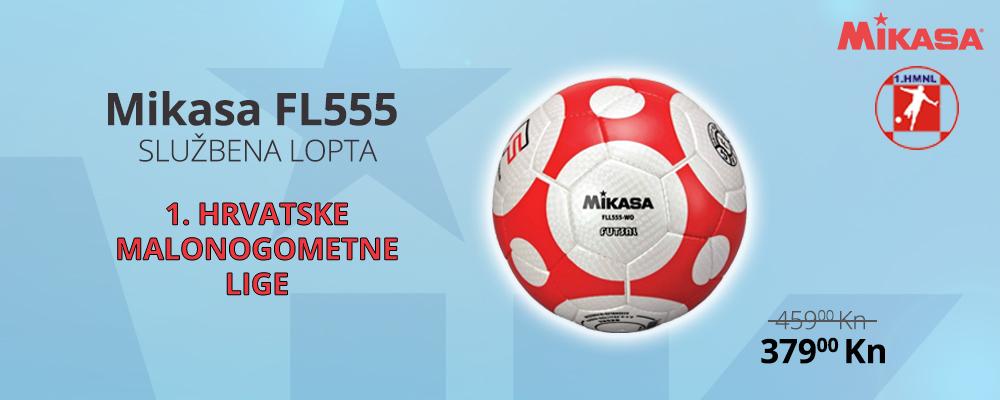 Futsal lopta Mikasa FL555 po super cijeni!