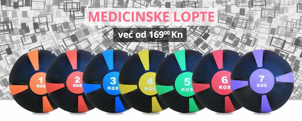 Medicinske lopte po odličnim cijenama!