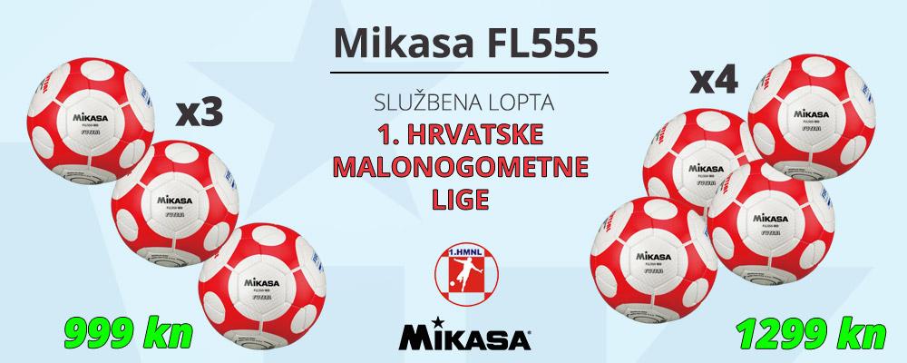 Mikasa lopta za futsal - više kupi, više štedi!